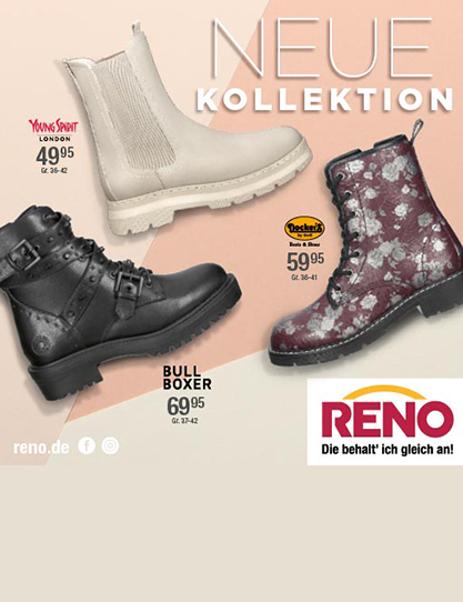 RENO – Hello Fall! The new autumn styles are here