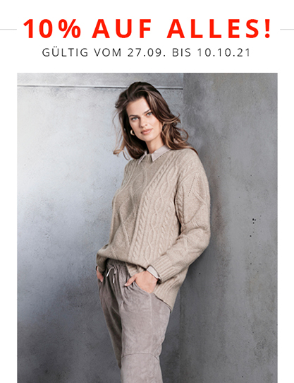 Ulla Popken – The 10% off everything promotion!